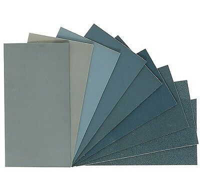 MICRO-MESH Polishing Cloth Sheets - 9 Grades and 6 Sizes Available