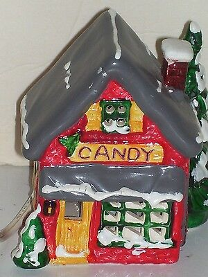 Candy House Village Accessory Light Up Good in Box