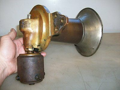 KLAXTON HORN OR SIREN Pat 1908 Nice and Early Antique Car Truck Automobile