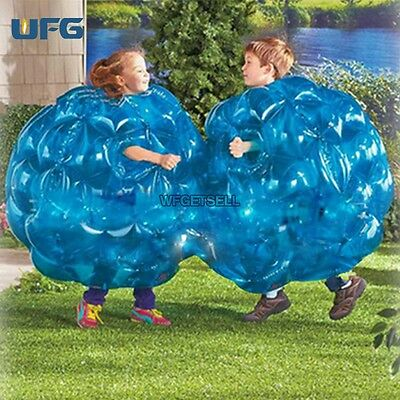 2PCS Buddy Kids 36inch Inflatable Bumper Bubble Balls Zorb Ball Soccer Football