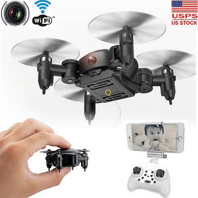 Nano Mini RC Quadcopter 2.4GHz 4CH 6-Axis Gyro 3D UFO Drone FPV W/ WIFI Camera