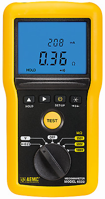 AEMC 6522 Digital Insulation Resistance Tester
