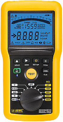 AEMC 6526 Multi-Function 1000V Digital Insulation Resistance Tester