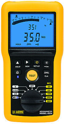 AEMC 6534 Multi-Function 500V Digital Insulation Resistance Tester