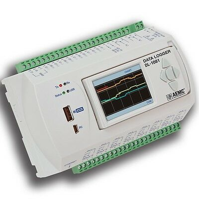 AEMC DL-1081 8 Channel Data Logger with LCD Display