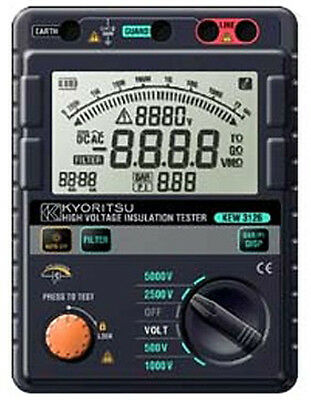 Kyoritsu 3126 Digital High Voltage 5kV Insulation Tester