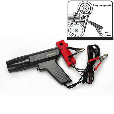 BLACK Timing Light Gun Tester Ignition for Car Motorcycle Inductive Xenon Lamp