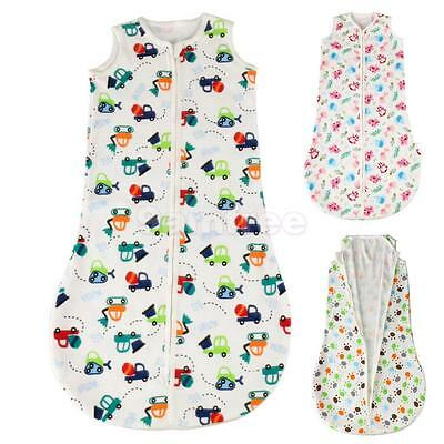 Baby Infant Swaddle Wrap Blanket Cotton Sleeping Bag Grobag For 0-1 Years