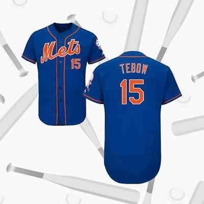 Tim Tebow New York Mets Royal Blue Baseball Jersey 15# New York Mets