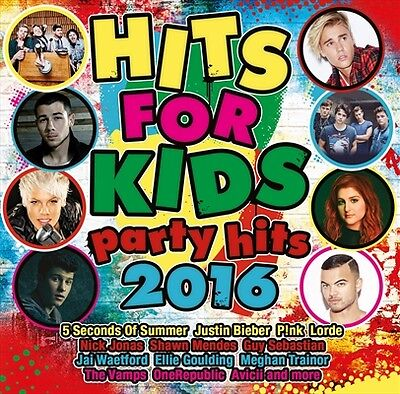 HITS FOR KIDS Party Hits 2016 VARIOUS ARTISTS CD NEW