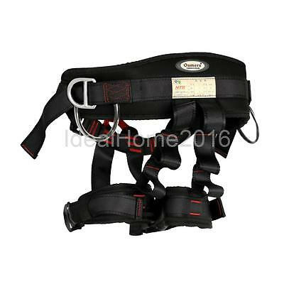NEW Safety Half Body Tree Rigging Rock Climbing Rappelling Harness Equipment