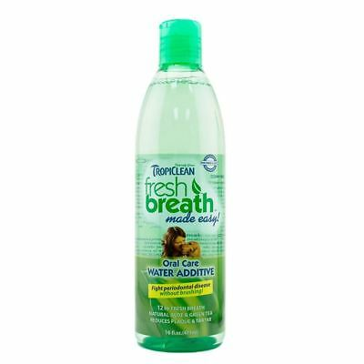 Tropiclean Dog Oral Care Fresh Breath Water Additive and Fresh Breath Drops