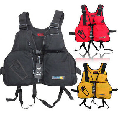 Outdoor Sports Buoyancy Aid Sailing Kayak Canoeing Fishing Life Jacket Vest