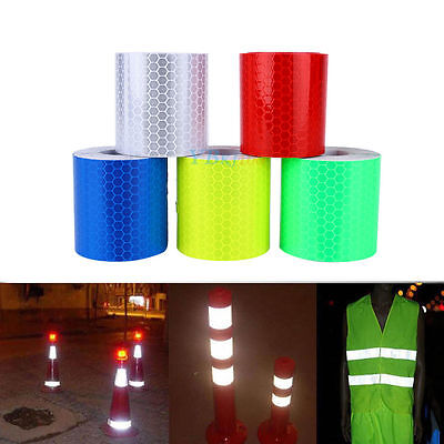 300cm Advertencia reflectante seguridad Cinta adhesiva reflective tape warning