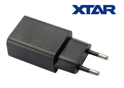 New XTAR USB Power Port 2100mA 2.1A EU Plug Wall Adapter Charger (VC2 Plus, VC4)