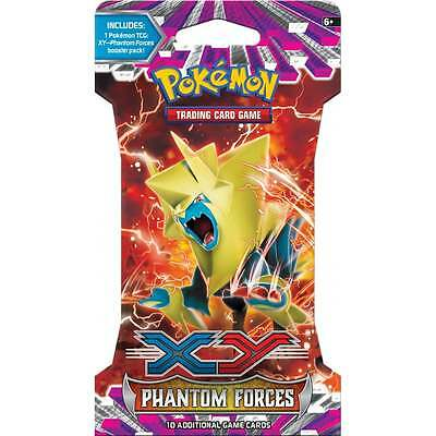 POKEMON XY PHANTOM FORCES * Booster Pack (Cardboard Packaging)