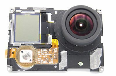 Gopro Hero 3+ Silver Edition Midframe With Lens And Lcd Replacement Repair Part