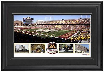 TCF Bank Stadium Minnesota Gophers Framed Panoramic Collage-LE of 500