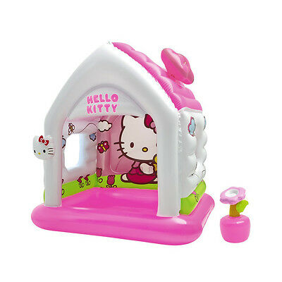 Maison gonflable Hello Kitty - Rose, Blanc - Autres