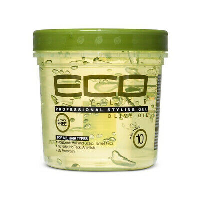 Eco Styler Professional Olive Oil Styling Hair Gel Maximum Hold Shine Gloss 8oz