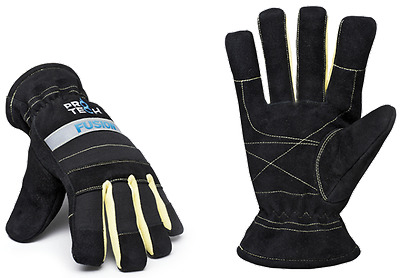 TechTrade Protech Fusion Structural Firefighter Gloves (Multiple Sizes)