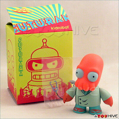 Kidrobot Futurama collection vinyl figure Dr. Zoidberg opened to identify 3-inch
