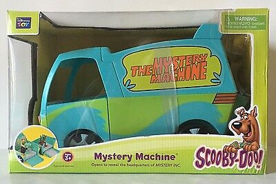 Scooby Doo Mystery Machine Toy In Box Collectible Old Model Car Truck