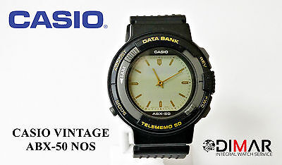 0c299b666076 VINTAGE CASIO ABX-50 Nos Data Bank Module 786 Japan -  123.50