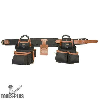 Custom Leathercraft 51452 27 Pocket Pro Framer 4pc Signature Tool Belt Bag New
