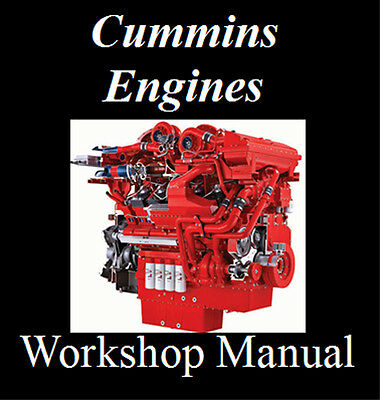 Cummins N14 Cm2100 Cm2150 Qsx19 Qsk23 Engines Workshop Manual On Cd - The Best !