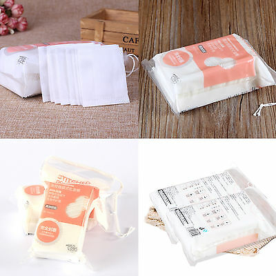 Japanese Grown Organic Unbleached Cotton Puff Square - 50/100pc Pure Cotton Puff