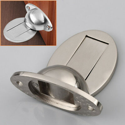 Magnetic Door Holder Stopper Invisible Doorstop Wall Floor Mounted Safety Catch