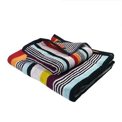 Missoni Home Towels - 1 bath towel + 1 hand towel Multi Coloured Stripe Ken