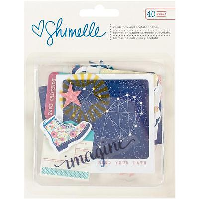 Starshine Shimelle Diecuts Cardstock & Acetate Shapes Ephemera American Crafts