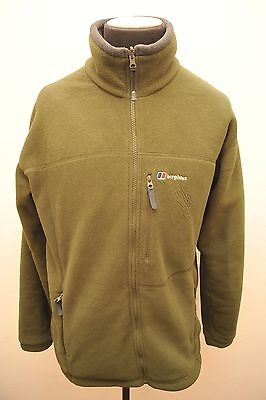Berghaus Thermal Pro Green Fleece Ideal For Walking Xl