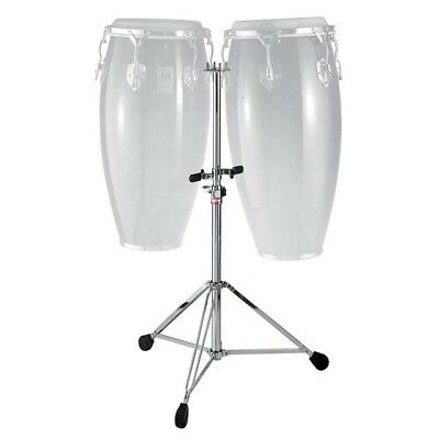NEW - Gibraltar Double-Braced Double Conga Stand - #9517