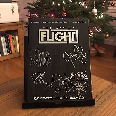 Autographed 'The Art of Flight' Collector's Edition DVD, Blue Ray, and Book