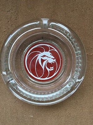 "Vintage ""MGM Grand Hotel""   Ash Tray   from Las Vegas - Lion Head figure"