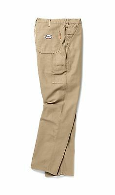 Rasco FR Mens Flame Resistant Khaki Carpenter pants NFPA 2112 HRC 2