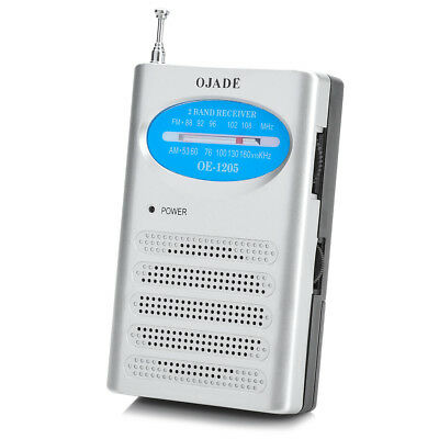 New Portable Small Loud Voice OE-1205 FM/AM Radio Receiver