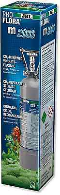 JBL ProFlora m2000 Refillable Bottle CO2 pressurised 2KG cannister pro flora