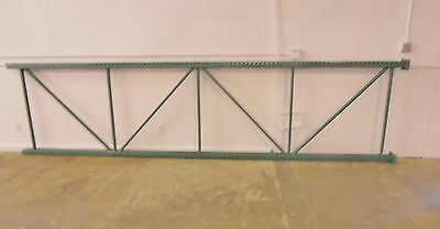 "Pallet Rack 48"" x 192"" Interlake Teardrop Warehouse Racking Upright Shelving"