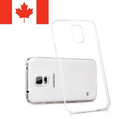 For Samsung Galaxy S4 Case - Clear Ultra Thin Soft TPU Transparent Back Cover