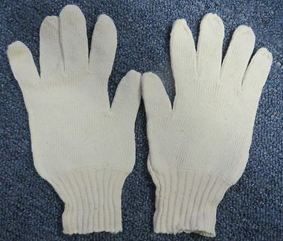 Pair WWII Japanese Army Cotton Gloves