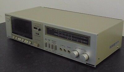 Vintage Hitachi Stereo Cassette Tape Deck D-E25 HiFi Audiophile Separate Working