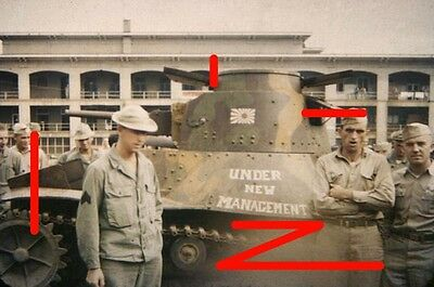 Imperial Japanese Navy Ha-Go tank captured on Makin and tested in USA (2)