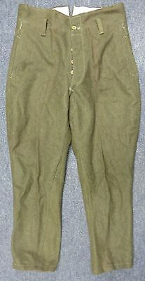WWII Japanese Army Enlisted Wool Trousers