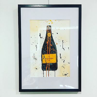 """Veuve Clicquot I"", Original Art (Framed)"
