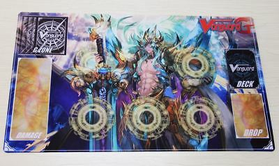 D902# FREE MAT BAG Ezel Crystal Cardfight Vanguard G Playmat Circle Rubber