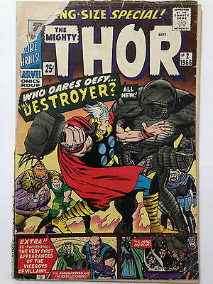 Marvel Comics 1966 THE MIGHTY THOR Special #2 **Free UK Postage** Silver Age